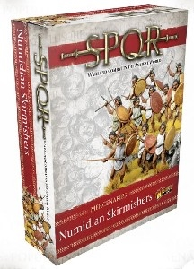 Warlord Games - SPQR Mercenaries Numidian Skirmishers