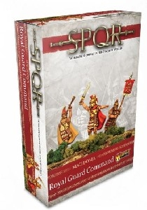 Warlord Games - SPQR Macedonia Royal Guard Command