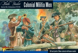 Warlord Games - 28mm  American War of Independence Colonial Militia