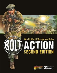 Warlord Games - 2nd Edition Bolt Action CORE Rulebook