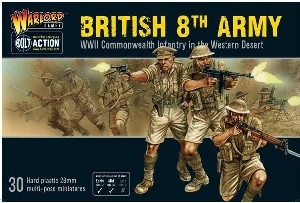 Bolt Action - British 8th Army Plastic