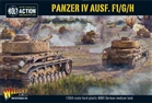 Bolt Action - Plastic Panzer IV Ausf.F1/G/H