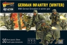 Bolt Action - German Infantry (Winter) Plastic box set