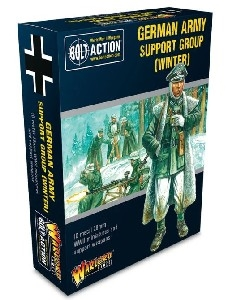 Bolt Action - German Army Support Group (Winter) box
