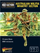 Bolt Action - Australian Militia Infantry Section Pacific Box