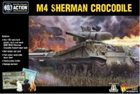 Bolt Action - US M4 Sherman Crocodile Flamethrower Tank