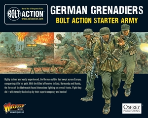 Bolt Action - 1000pts German Grenadiers Starter Army