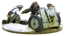 Bolt Action - German Heer 7.5cm leIG 18 light artillery Winter