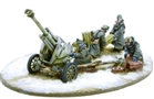 Bolt Action - German Heer 10.5cm leFH 18 medium artillery Winter