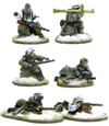Bolt Action - German Heer Panzerschreck, Flamethrower & Sniper teams Winter