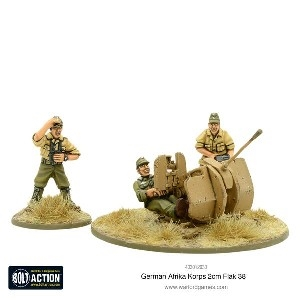 Bolt Action - Afrikakorps 2cm Flak 38
