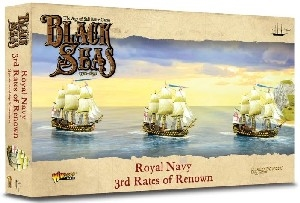 Warlord Games - Black Seas - Royal Navy 3rd Rates of Renown