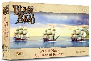 Warlord Games - Black Seas - Spanish Navy 3rd Rates of Renown