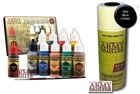 Army Painter Starter Sets - Warpaints: Wargamer Starter Paint Set - Black Primer  *AUSTRALIA ONLY*