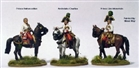 Perry Metals - AN1 Napoleonic Early Austrian Mounted High Command