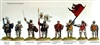 Perry Metals - HYW - AO14 French High Command Agincourt on Foot