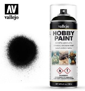 Vallejo Spray - AV28.012 Black Primer