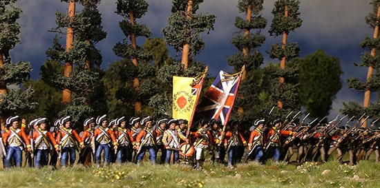 Perry Miniatures - American War of Independence - British Infantry ...