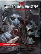 Dungeons and Dragons: 5th Ed D&D Volos Guide To Monsters