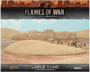 Battlefield In A Box - BB221 Large Dune