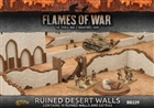 Battlefield In A Box - BB229 Ruined Desert Walls