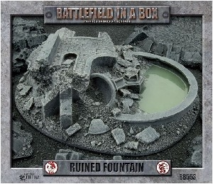 Battlefield In A Box - BB553 Gothic Ruined Fountain