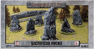 Battlefield In A Box - Sacrificial Rocks (6 pcs)