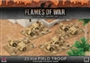 Flames of War - Desert Rats 25pdr Field Troop