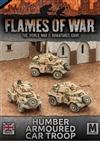 Flames of War - British Desert Rats Humber Armoured Car Troop