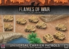 Flames of War - Desert Rats Universal Carrier Patrols