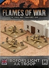 Flames of War - British Desert Rats Bofors Light AA Troop
