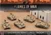 Flames of War - British Sherman Armoured Troop