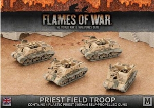 Flames of War - British Priest Field Troop