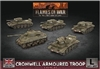 Flames of War - British Cromwell Armoured Squadron BBX57 Plastic
