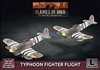 Flames of War - British Typhoon Fighter Flight BBX66 Plastic