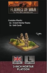Flames of War - British 3-inch Mortar Platoon BR729