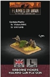 Flames of War - British Airborne Vickers MG Platoon Plastic