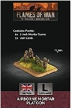 Flames of War - British Airborne Mortar Platoon BR815 Plastic