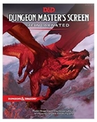 Dungeons and Dragons: 5th Ed Dungeon Master's Screen Reincarnated