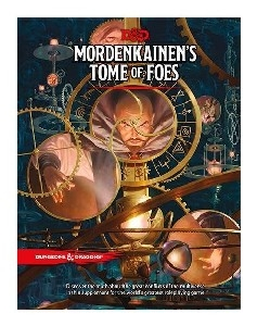 Dungeons and Dragons: 5th Ed D&D Mordenkainens Tome of Foes