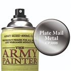 Army Painter Colour Primer Spray - Plate Mail Metal
