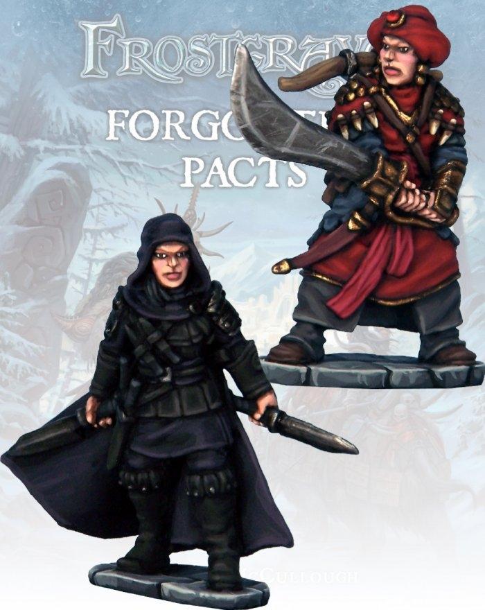Frostgrave - FGV222 - Assassin and Demon Hunter