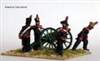 Perry Metals - Foot Artillery firing 6 pounder FN17