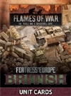 Flames of War - FW261B Fortress Europe British Late War Unit Cards