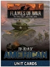 Flames of War - FW262U D-Day American Unit Cards