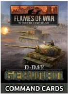 Flames of War - FW263C D-Day German Forces in Normandy 1944 Command Cards