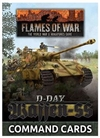 Flames of War - FW265C D-Day Waffen-SS Forces in Normandy 1944 Command Cards