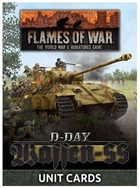 Flames of War - FW265U D-Day Waffen-SS Forces in Normandy 1944 Unit Cards