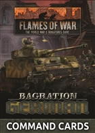 Flames of War - FW267C Bagration: German Command Cards