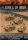 Flames of War - Afrika Korps Marder 7.62 Tank Hunter Platoon